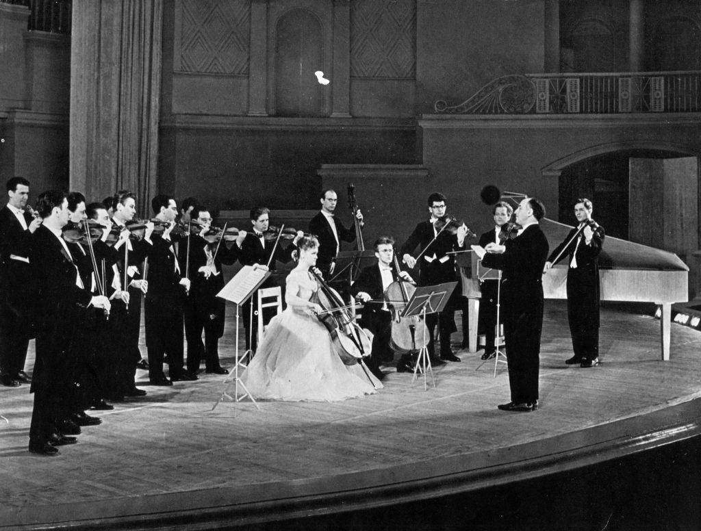 The Moscow Chamber Orchestra. Conductor Rudolf   Barshai. Tchaikovsky Concert Hall, Moscow,   21.06.1965