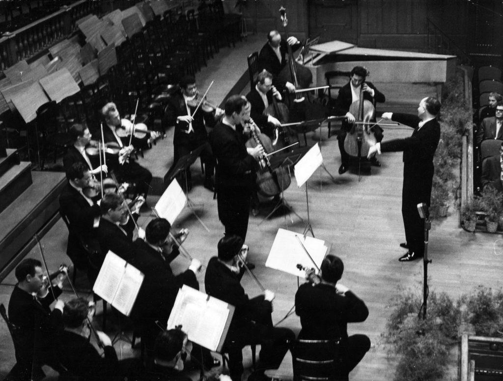 Московский Камерный оркестр. Дирижер Рудольф  Баршай. Будапешт, 1964
