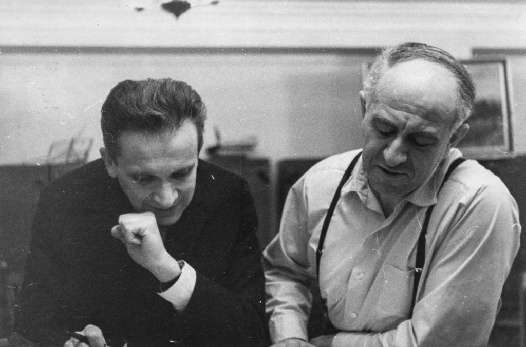 Mieczysław Weinberg and Rudolf Barshai
