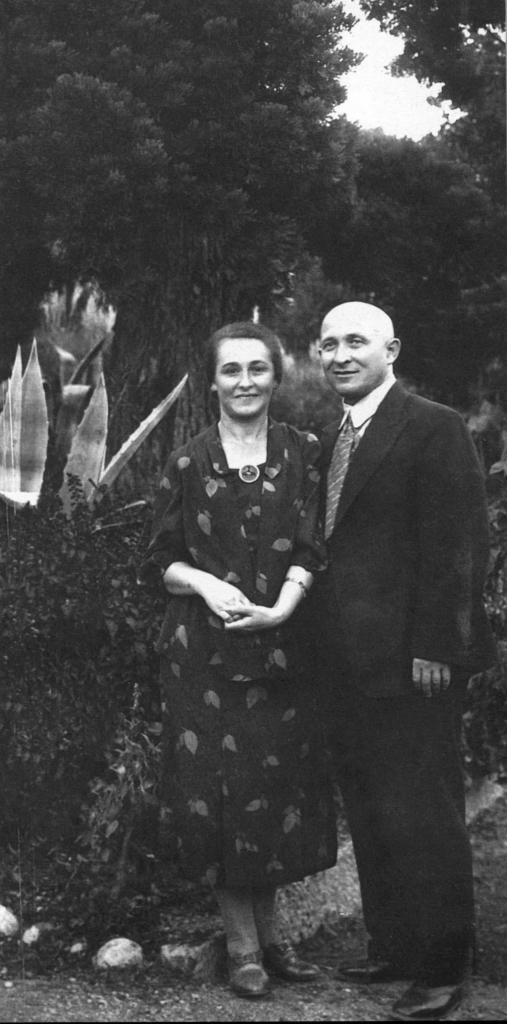 Мария Алексеева и Борис Баршай, родители Рудольфа Баршая