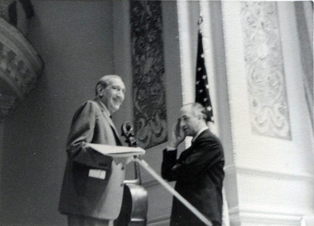Gregor Piatigorsky and Rudolf Barshai