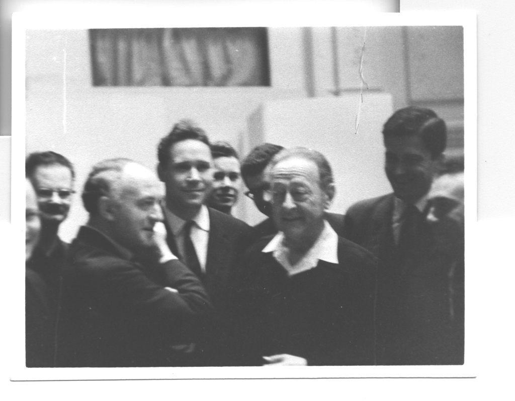 Рудольф Баршай и Яша Хейфец. Нью-Йорк. 1963