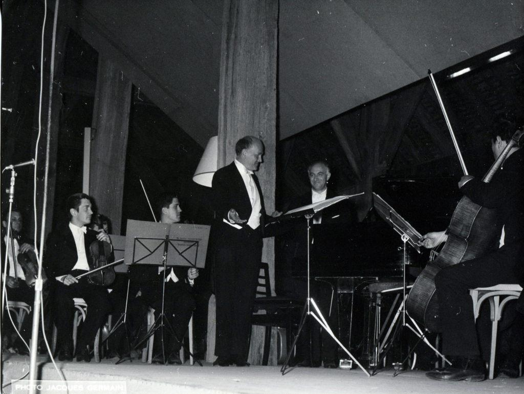 The Moscow Chamber Orchestra, conductor Rudolf   Barshai, soloist Sviatoslav Richter